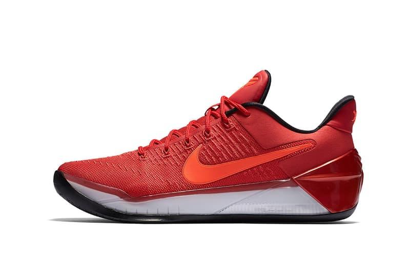 size 40 90648 22017 The Black Mamba lives on. Nike Kobe AD University Red