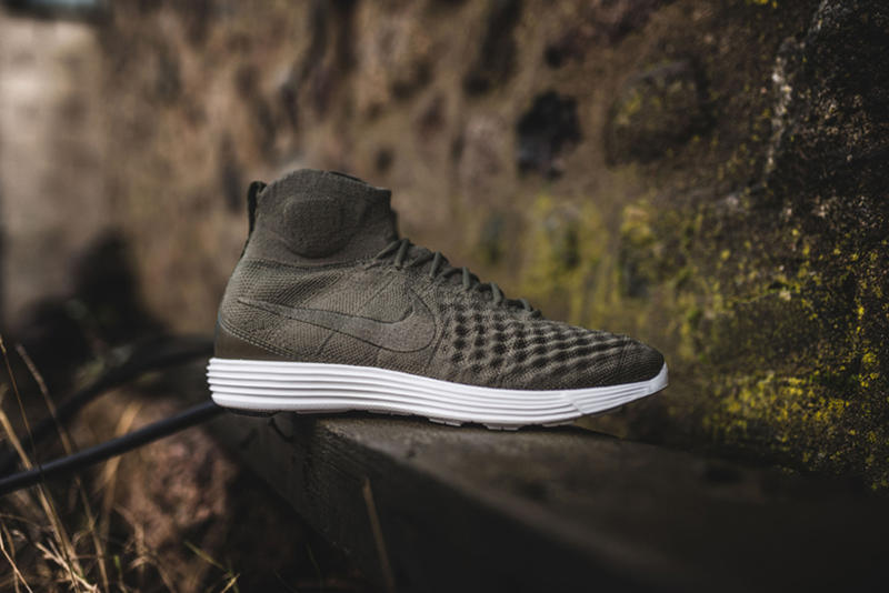 the latest 1b2bf b4a6c Nike Lunar Magista II Flyknit Cargo Khaki