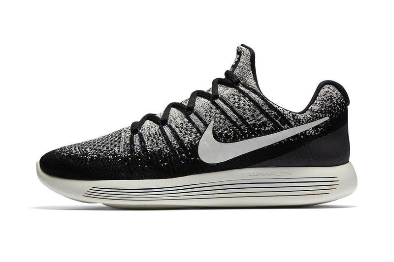 online store 41ae7 dbcd8 NikeLab GYAKUSOU Flyknit LunarEpic Low 2 Oreo and Red ...