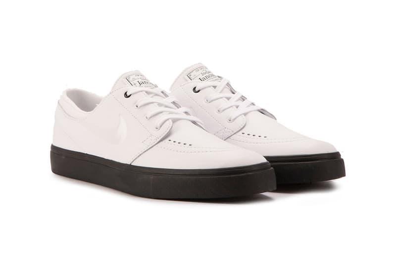 Nike SB Stefan Janoski Prem CPSL White Leather  0500d18a3d9