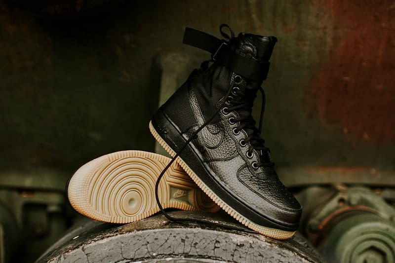 Nike SF AF1 Black Gum Special Field Air Force 1
