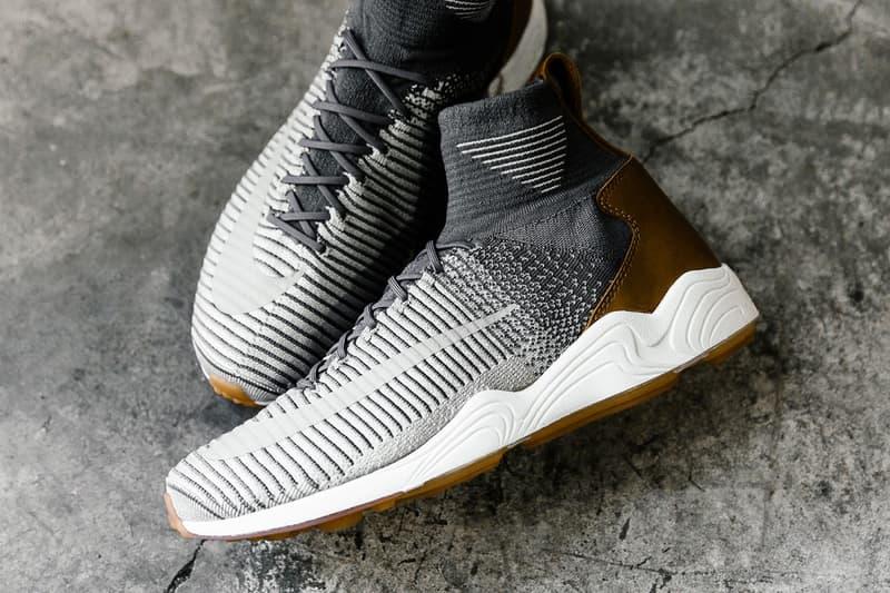 Nike Zoom Mercurial XI Flyknit Grey Leather