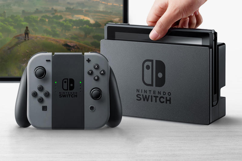 Nintendo Switch Live Stream Debut