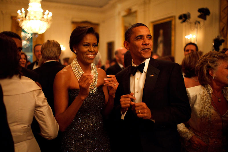 Barack Obama Farewell Party White House