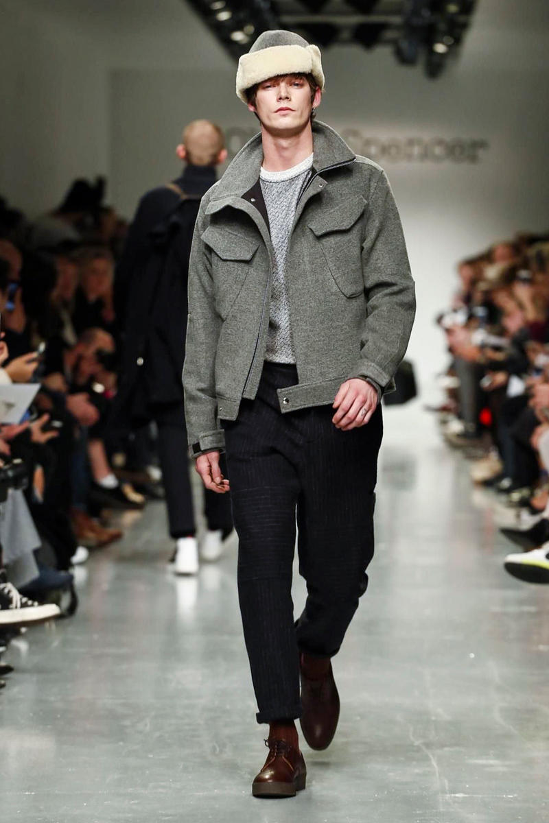 Oliver Spencer 2017 Fall Winter Collection Runway Show London Fashion Week Men's