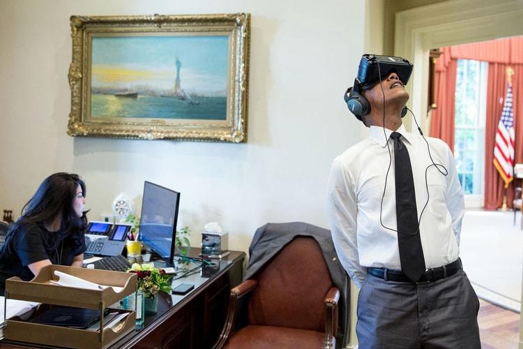 225a2807e43 President Barack Obama Gives Us a Virtual Reality Tour of The White House