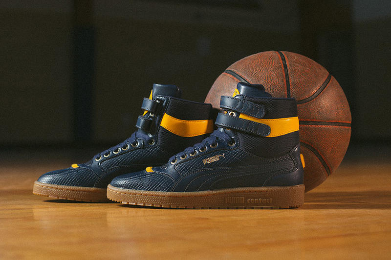 PUMA Black History Month Legacy Collection Clyde Ignite evoKNIT Sky II High