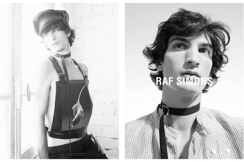 Raf Simons 2017 Spring/Summer Campaign