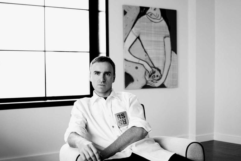 Raf Simons Interview Tom Ford Virgil Abloh OFF-WHITE Donald Trump