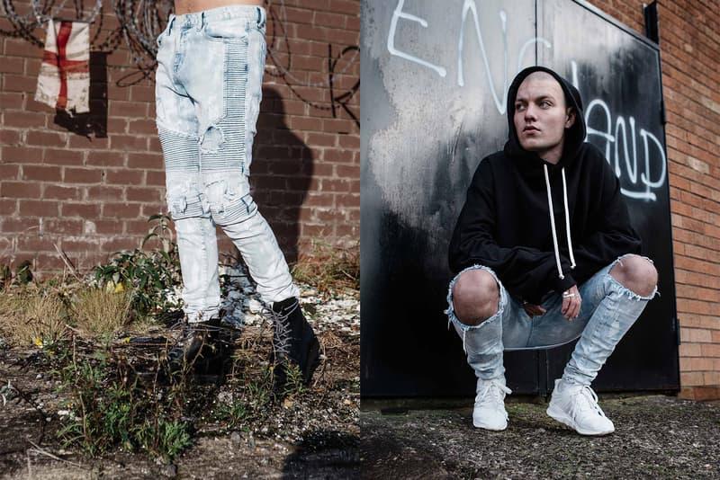 Represent spring summer 2017 stomper denim collection biker jeans