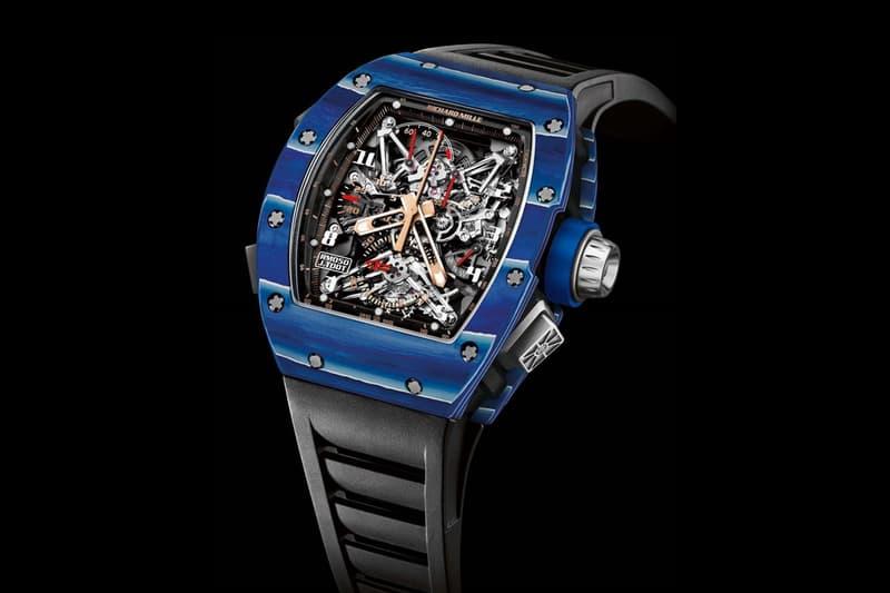 Richard Mille Blue Quartz TPT Jean Todt Tribute Watch Collection 11-03 050 056