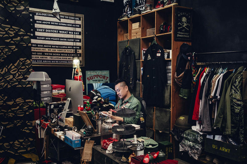 SBTG Sabotage Mark Ong Sneaker Customizer Studio Singapore