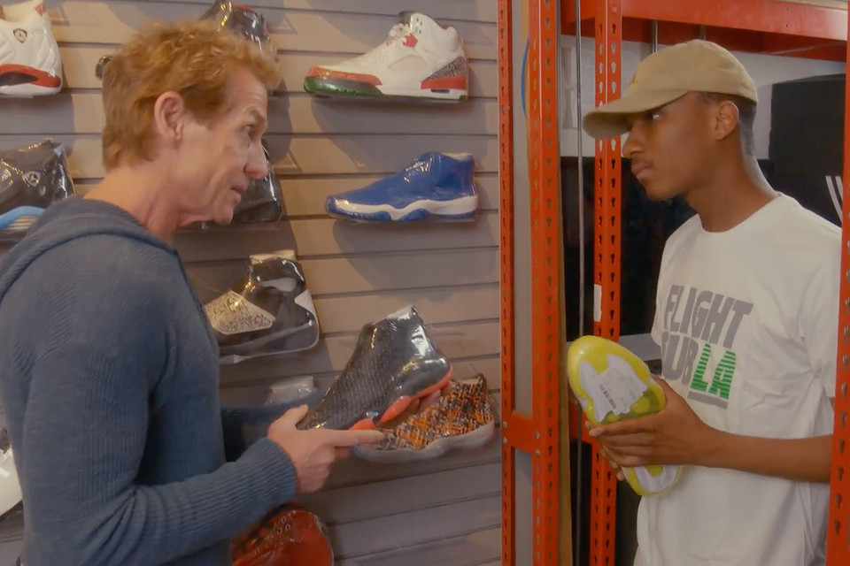 ce53a57a39 Skip Bayless Visits Flight Club s Los Angeles Location for Some Sneaker  Shopping