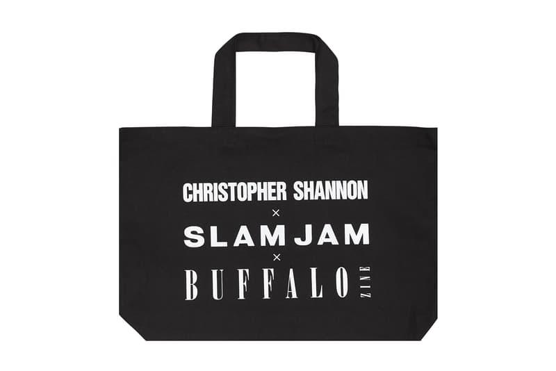 Slam Jam Buffalo Zine Christopher Shannon Capsule Collection