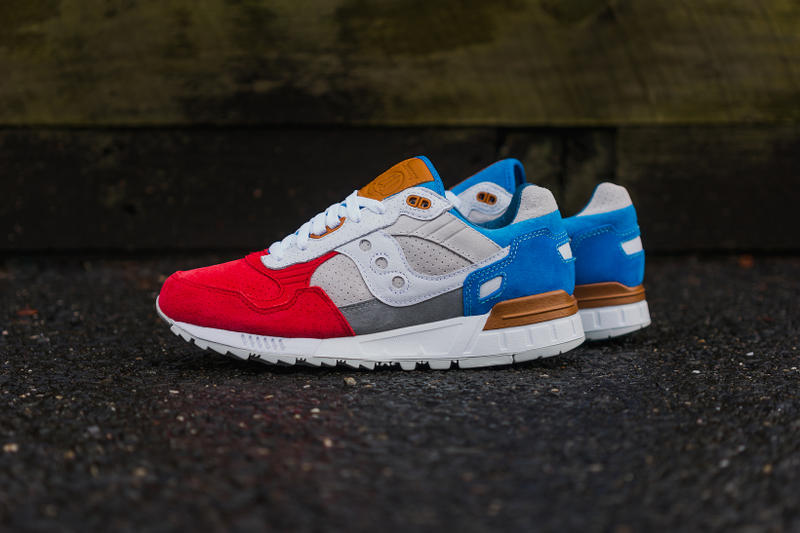 Be excited Shah map  Sneakers76 x Saucony Shadow 5000