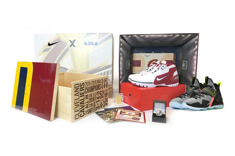 StockX Nike Lebron Cavs Championship Court Pack