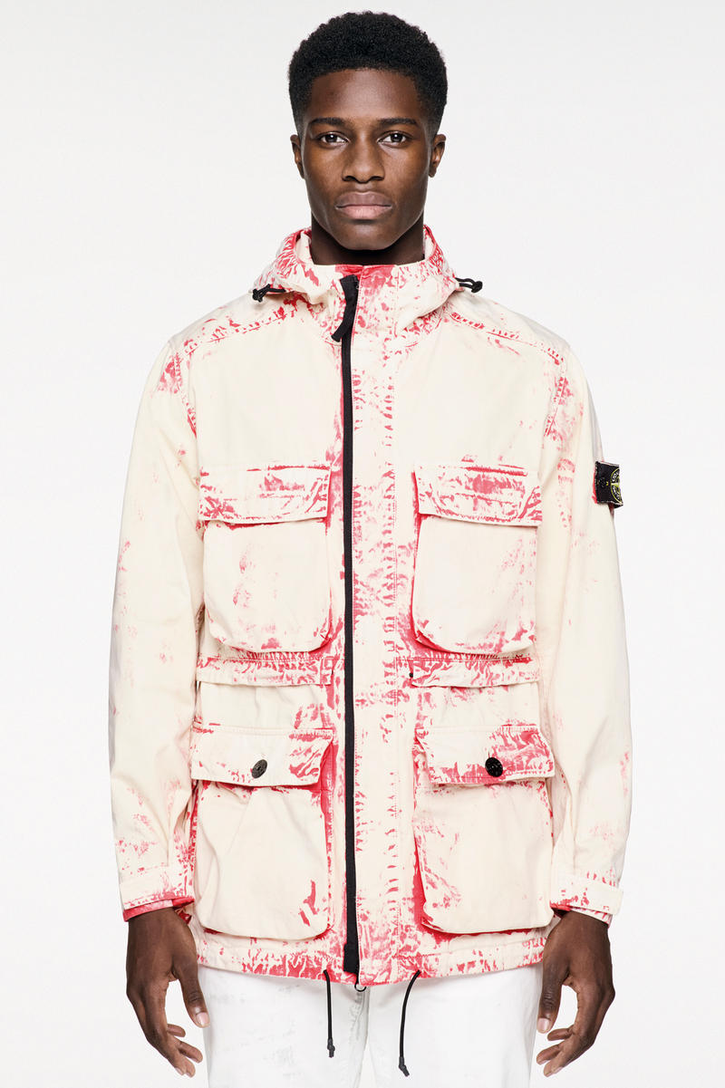 Stone Island Spring Summer 2017 Hand Corrosion