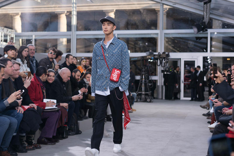 Supreme x Louis Vuitton Items 2017 Fall Winter Show
