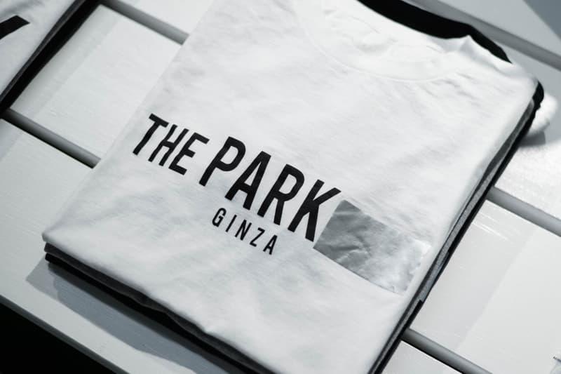 THE PARK · ING GINZA Hiroshi Fujiwara