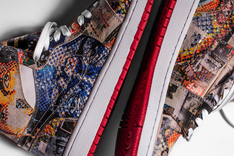 The Shoe Surgeon Art Inspired Air Jordan 1 Gillean Clark