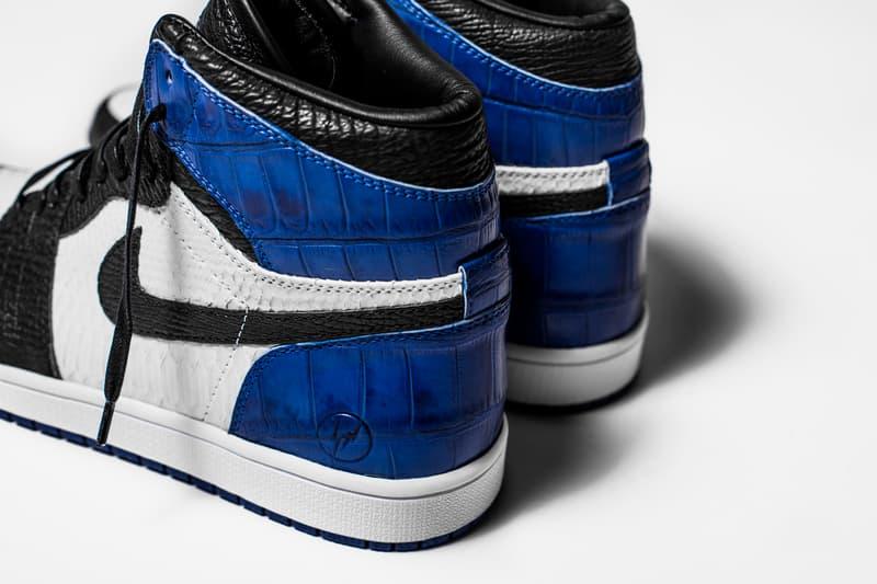 The Shoe Surgeon fragment design x Air Jordan 1 Brandon LaFell Nike