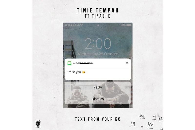 "Tinie Tempah ft. Tinashe ""Text From Your Ex"""