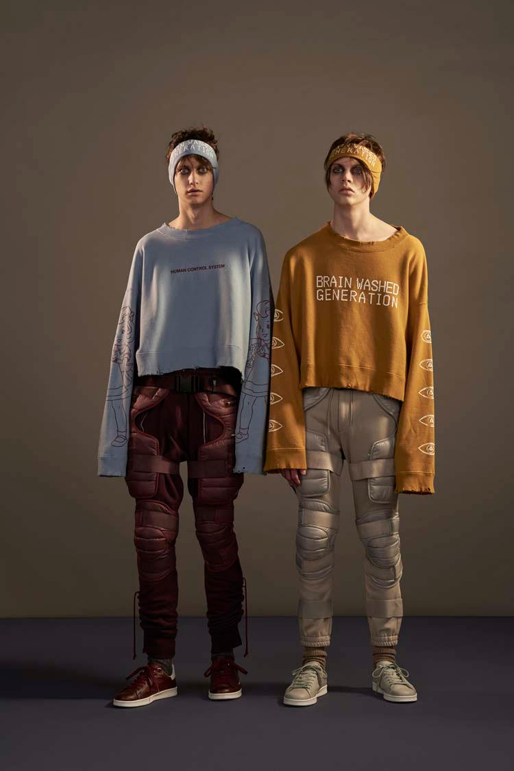 UNDERCOVER 2017 Fall/Winter Collection BRAIN WASHED GENERATION