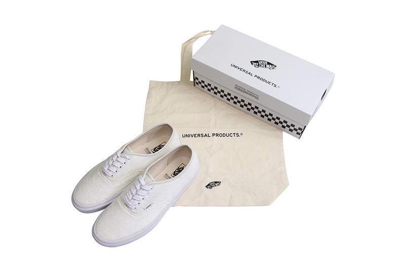 UNIVERSAL PRODUCTS Vans Authentic White Pony Hair