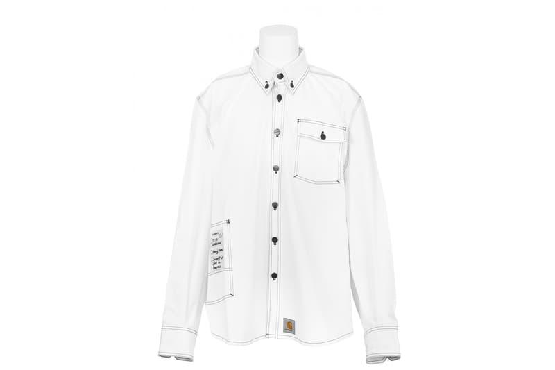 Vetements Carhartt Collab Denim Shirt