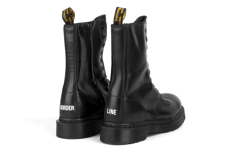 Vetements x Dr. Martens Leather Boot