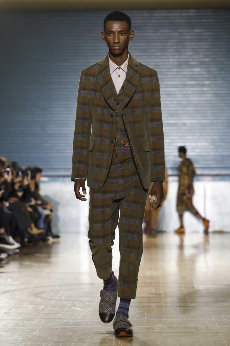 Vivienne Westwood 2017 Fall/Winter Collection Runway London Fashion Week Men's