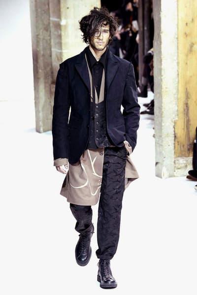 Yohji Yamamoto 2017 Fall/Winter Collection