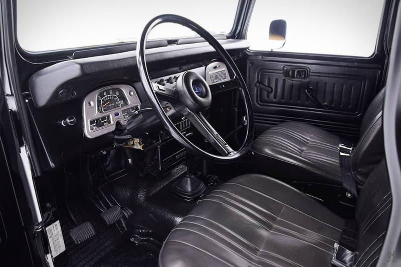 1979 Toyota FJ40 Land Cruiser Gets Restored in Matte Black | HYPEBEAST