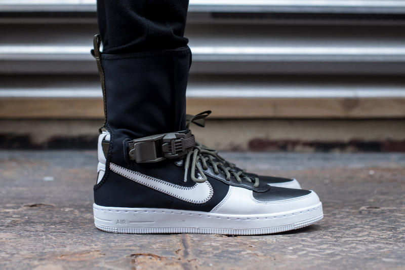 new styles 2b8ea 3aaf9 Closer Look Release Info for ACRONYM x NikeLab AF1 Downtown ...