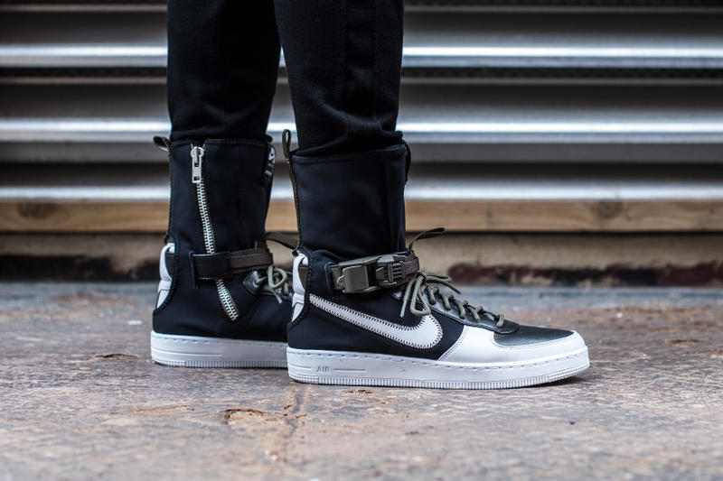 0f778f8caef73a Closer Look Release Info for ACRONYM x NikeLab AF1 Downtown Hi ...