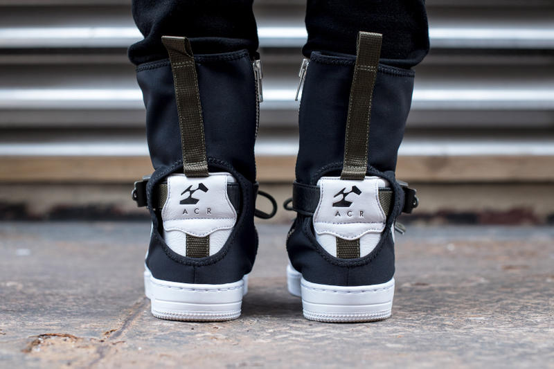 Closer Look Release Info for ACRONYM x NikeLab AF1 Downtown Hi ... 05a022091