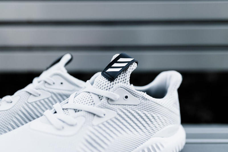 adidas AlphaBOUNCE Sneaker Gray and White streetwear
