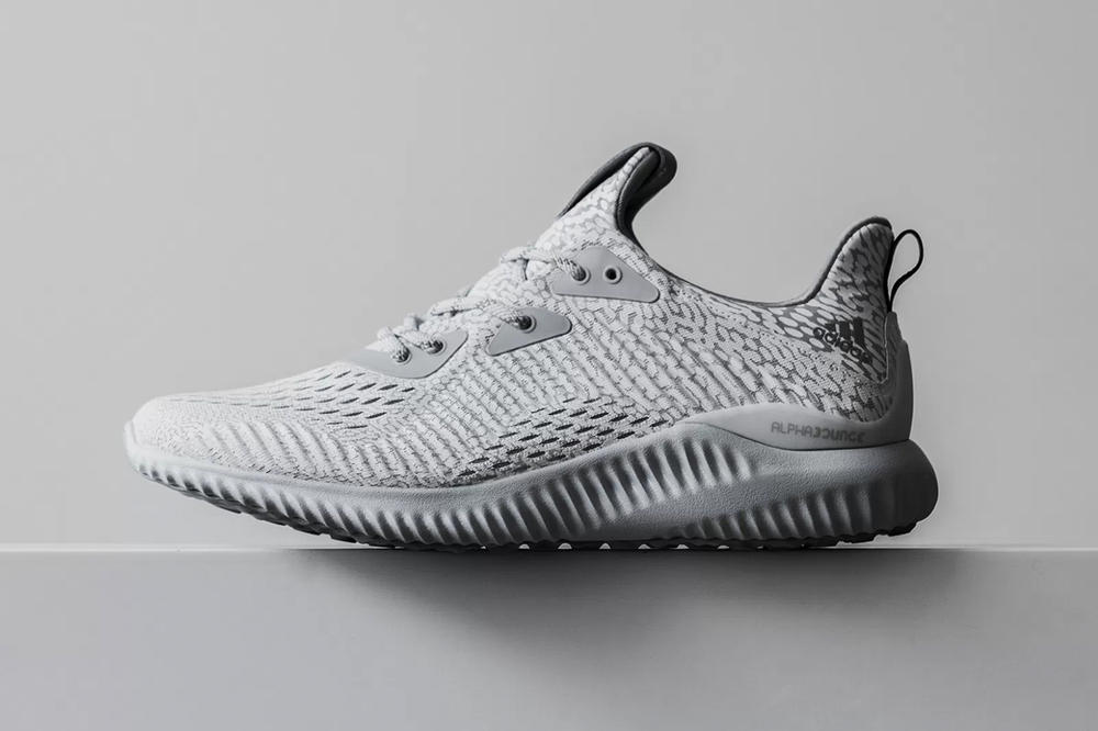 """The adidas AlphaBOUNCE Gets Dipped In """"Speckled Gray"""""""