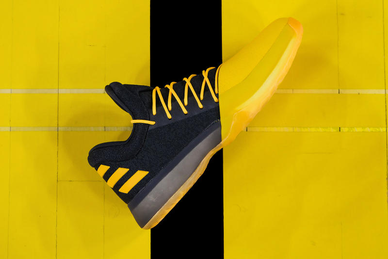 new product a6aee dd00f adidas Harden Vol 1 Fear the Fork