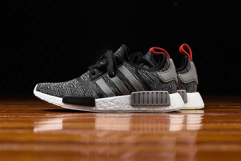 368742ecf621 adidas NMD R1 Gets Hit With a Glitch Camo Core Black Colorway. Glitch camo  stays strong in 2017.
