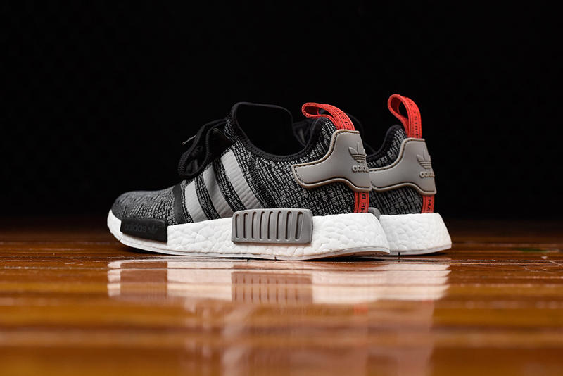 eb48ca2717c1d adidas NMD R1 Gets Hit With a Glitch Camo Core Black Colorway ...