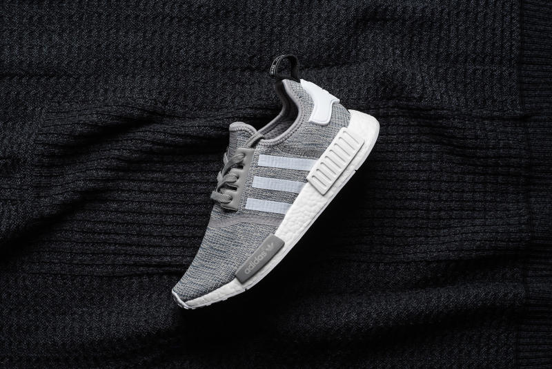 detailed pictures f0c3c ec0c8 A Closer Look at the adidas Originals NMD R1 Solid Grey ...