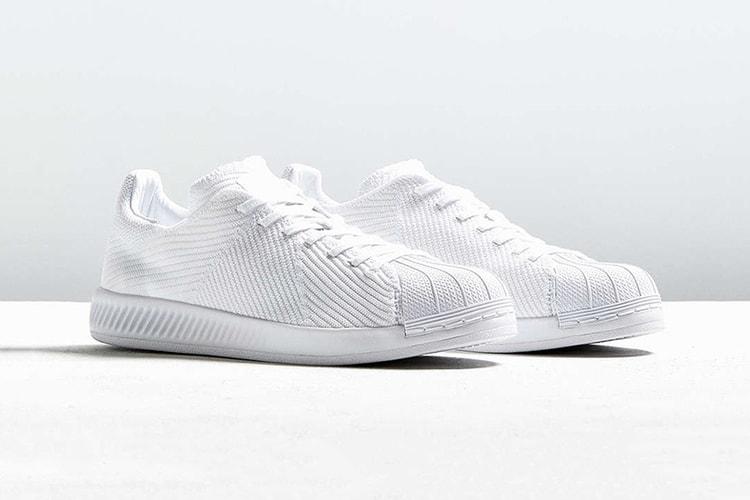 "c6771b71b7d adidas Originals Superstar BOUNCE Gets A ""Triple White"" Primeknit Makeover"