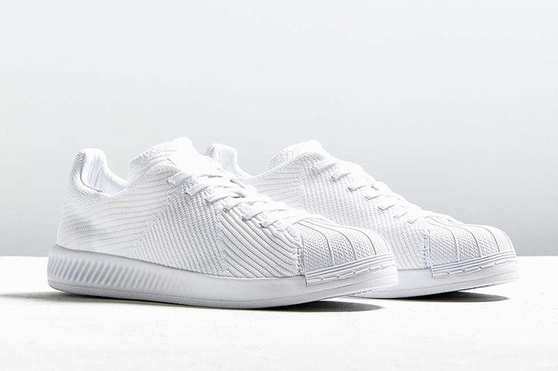 "932f07cfb81a adidas Originals Superstar BOOST Gets a ""Triple White"" Primeknit ..."