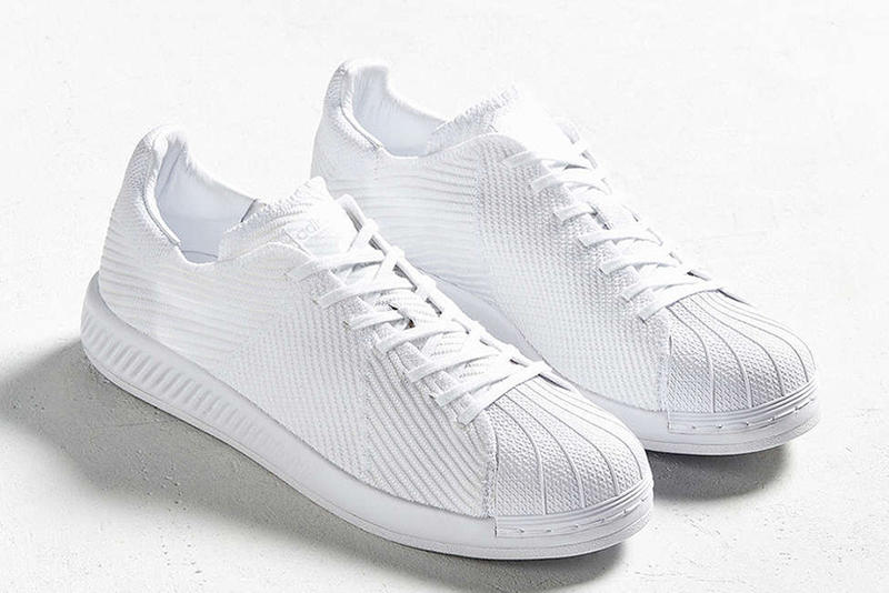 "8b22018a331b adidas Originals Superstar BOOST Gets a ""Triple White"" Primeknit ..."