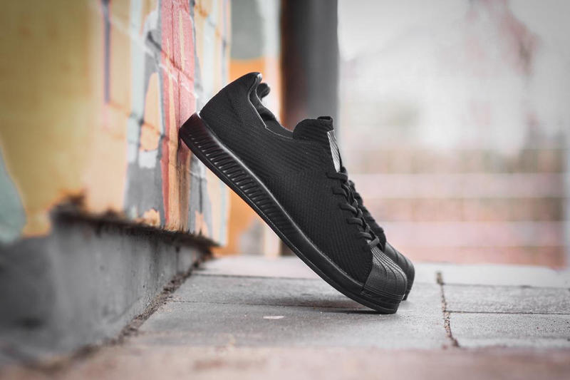 adidas Originals Superstar BOUNCE Primeknit Triple Black