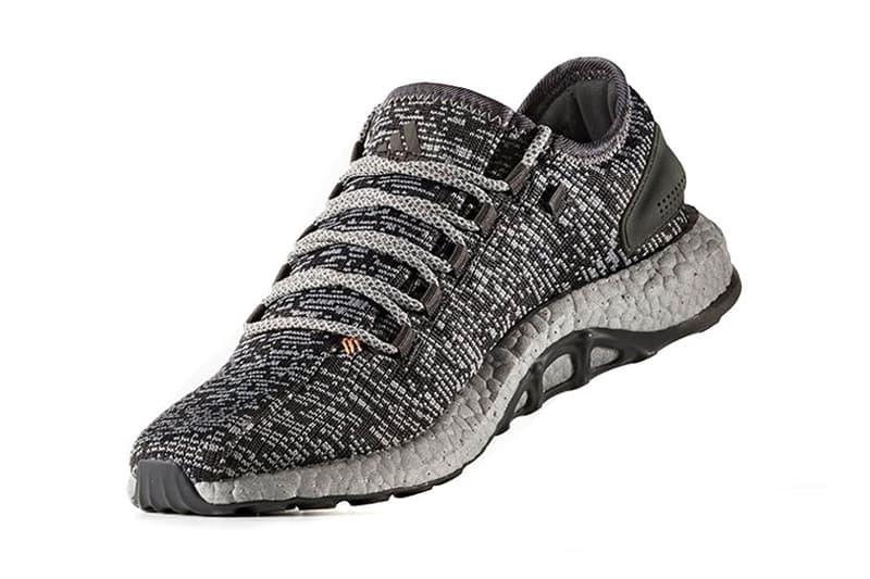 adidas PureBoost Silver Midsole