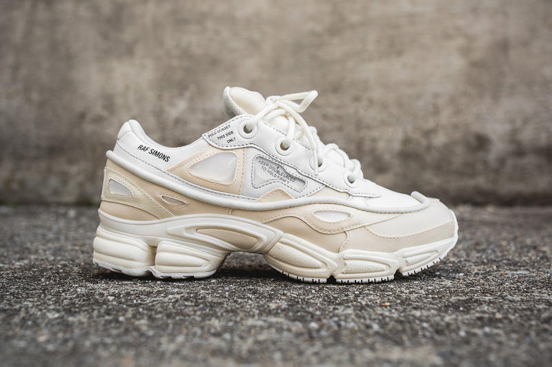 e59f5ba13fd9 adidas   Raf Simons Unite for a Cream-Colored Ozweego Bunny