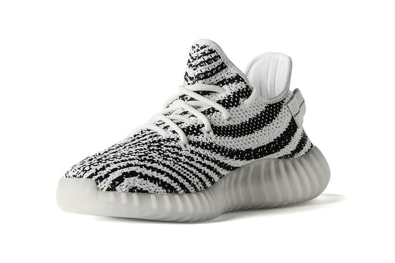 adidas YEEZY BOOST V2 Zebra white black
