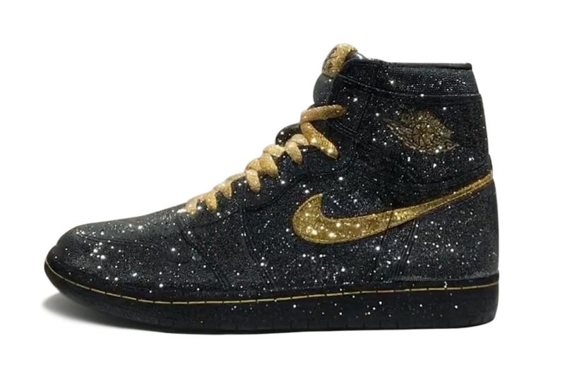 The Air Jordan 1 Gets Decked out in Crystals Michael Jordan Nike Jordan  Brand Daniel Jacob dbfe69e4e